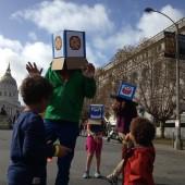 COAP SF 2014, Josh Lee, Sesame Street Boxheads