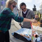 COAP SF 2014, Liz Mak, Origami Fishing 2.0